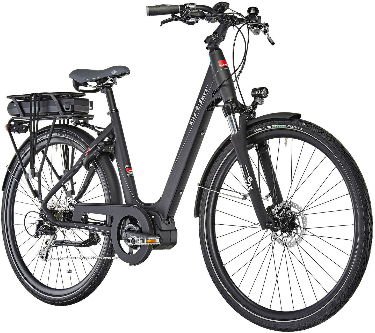 ortler montana eco e trekking bike black at. Black Bedroom Furniture Sets. Home Design Ideas